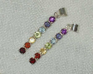 Chakra Pendant Faceted